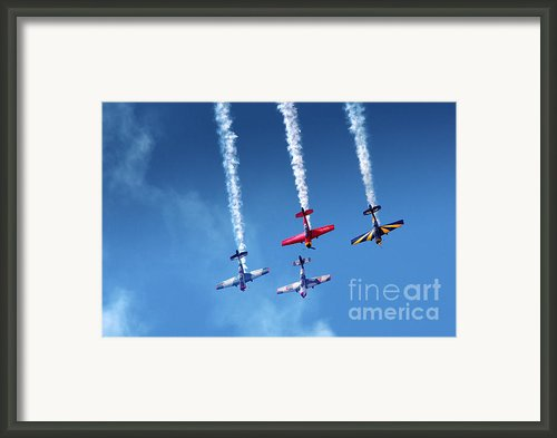 Air Show Framed Print By Carlos Caetano