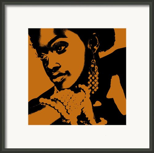 Aisha Framed Print By Irina  March
