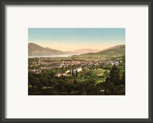 Aix France Framed Print By International  Images