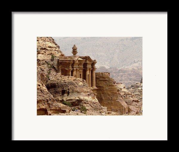 Al-deir (monastery) Framed Print By Cute Kitten Images