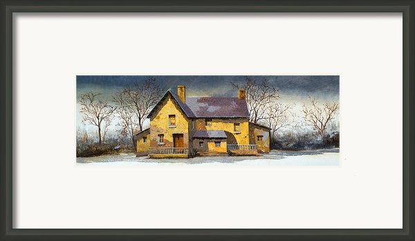 Al Mattino Framed Print By Guido Borelli