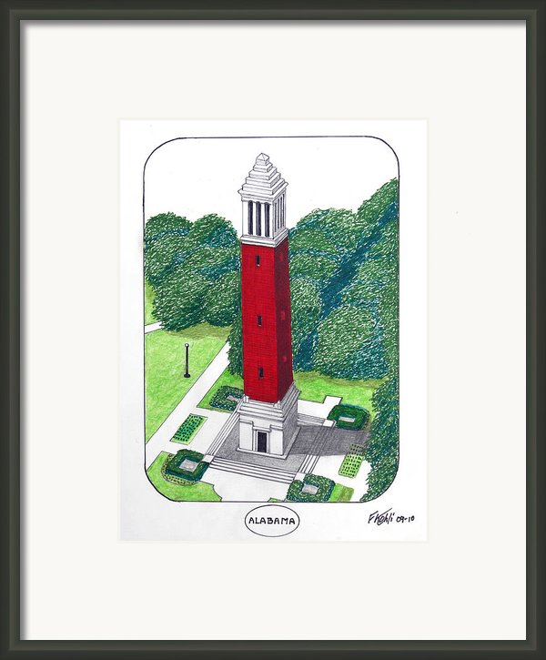 Alabama Framed Print By Frederic Kohli
