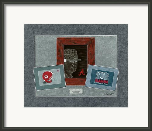 Alabama Trio Framed Print By Herb Strobino