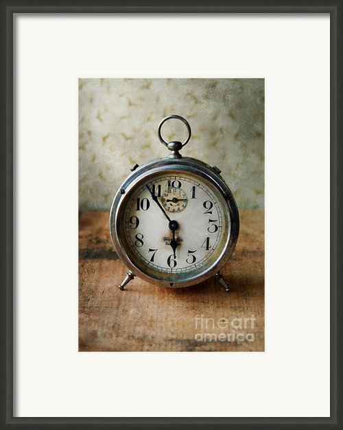 Alarm Clock Framed Print By Jill Battaglia