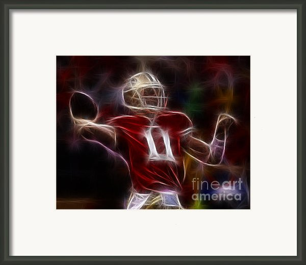 Alex Smith - 49ers Quarterback Framed Print By Paul Ward