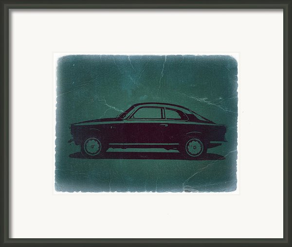 Alfa Romeo Gtv Framed Print By Irina  March