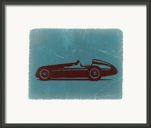 Alfa Romeo Tipo 159 Gp Framed Print By Irina  March