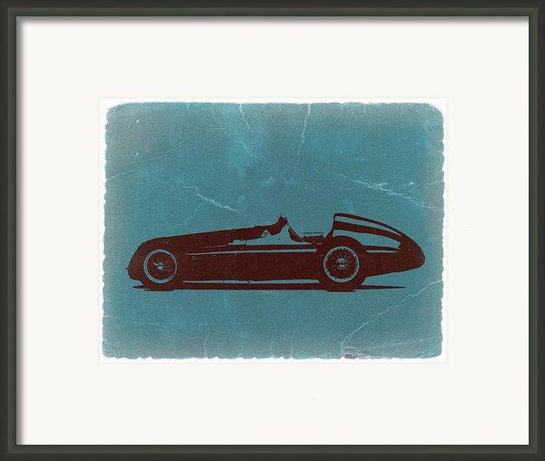 Alfa Romeo Tipo 159 Gp Framed Print By Irina  March