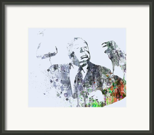 Alfred Hitchcock Birds Framed Print By Irina  March