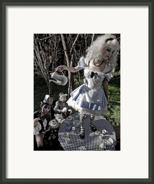 Alice And Friends 1 Framed Print By Kelly Jade King