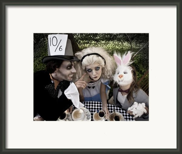 Alice And Friends 2 Framed Print By Kelly Jade King
