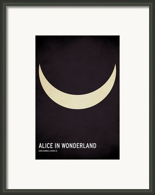 Alice In Wonderland Framed Print By Christian Jackson