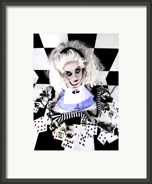 Alice1 Framed Print By Kelly Jade King