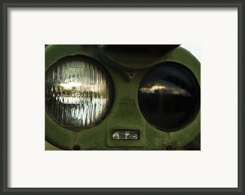Alien Eyes Framed Print By Christi Kraft