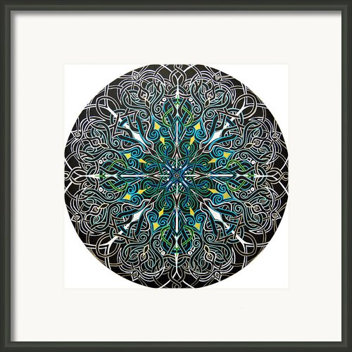 Alignment Framed Print By Meghan Oona Clifford