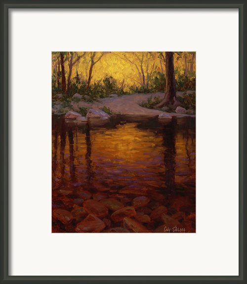 All Aglow Framed Print By Cody Delong