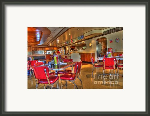 All American Diner 5 Framed Print By Bob Christopher