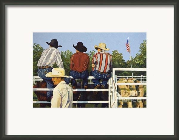 All American Framed Print By Pat Burns