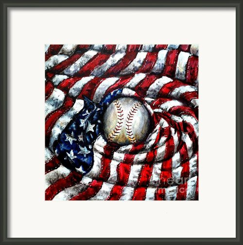 All American Framed Print By Shana Rowe
