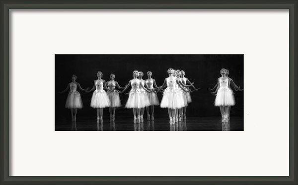 All In A Row Framed Print By Kenneth Mucke