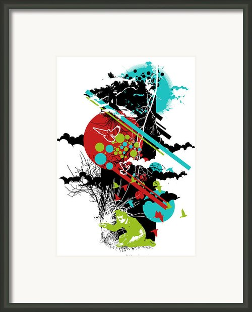 All Is Vanity Framed Print By Budi Satria Kwan