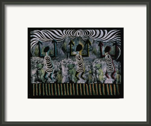 All This Country Belongs To Us Framed Print By Barbara Nesin