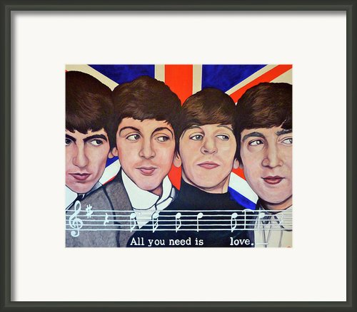 All You Need Is Love  Framed Print By Tom Roderick