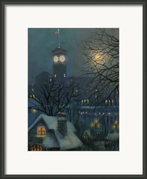 Allen Bradley Clock Milwaukee Framed Print By Tom Shropshire