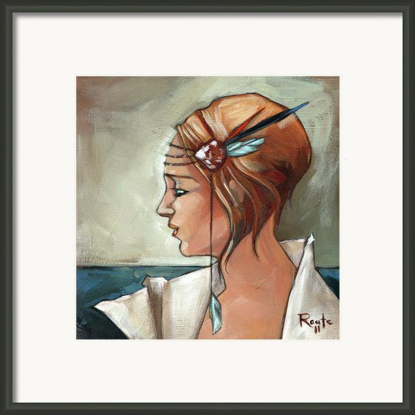 Allison Framed Print By Jacque Hudson-roate