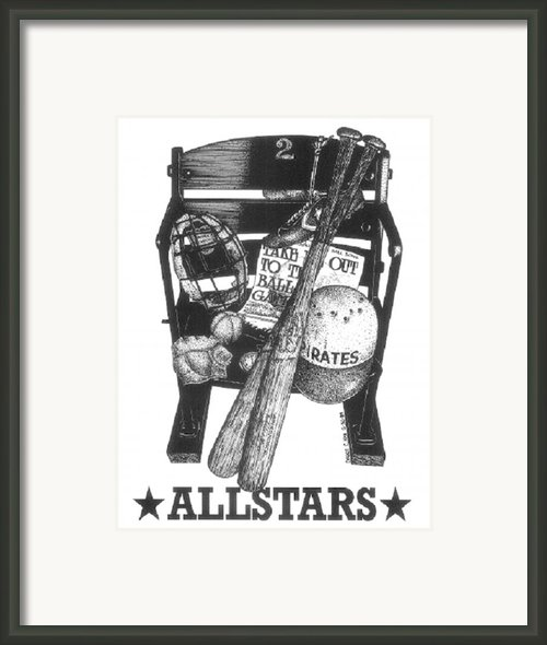 Allstars Framed Print By Bruce Kay