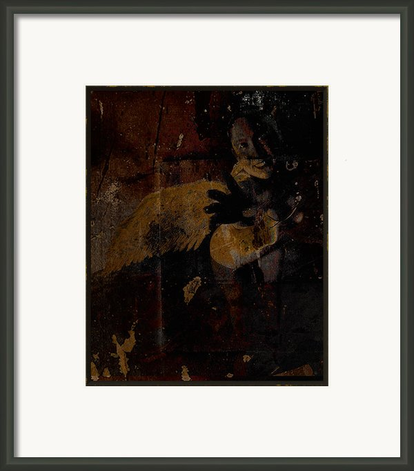 Almost An Angel Framed Print By Adam Kissel