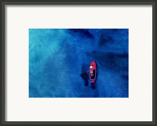 Alone 1 Framed Print By Anil Nene