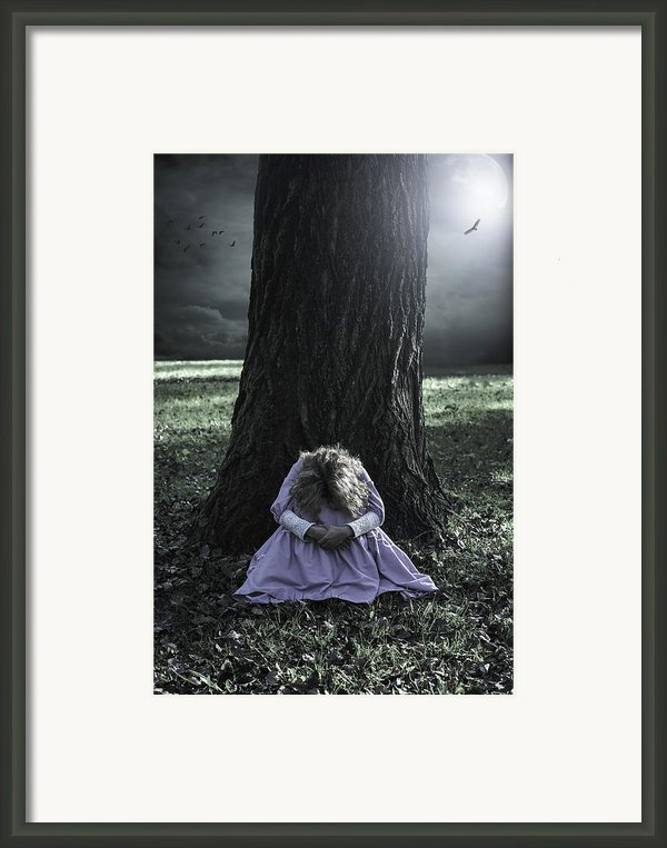 Alone At Night Framed Print By Joana Kruse