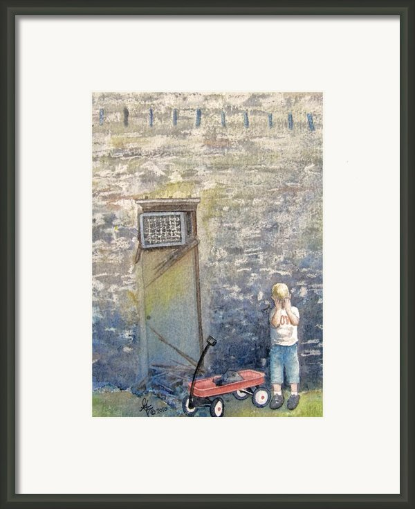 Alone Framed Print By Gale Cochran-smith