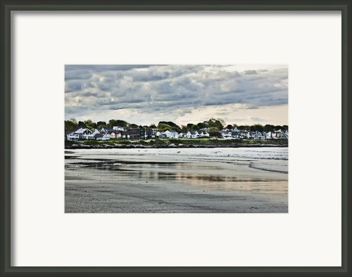 Along The Beach Framed Print By Joel P Black