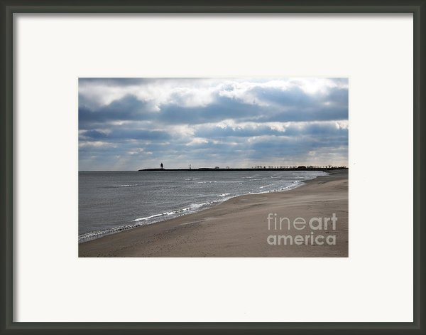 Along The Shore Framed Print By Dan Holm