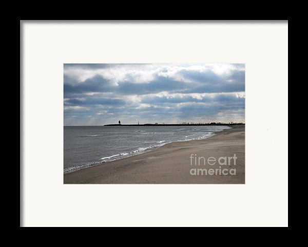 Along The Shore Framed Print By Dan Holm