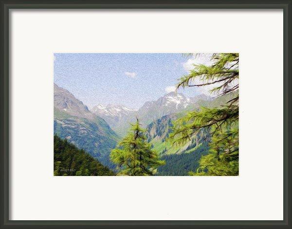 Alpine Altitude Framed Print By Jeff Kolker