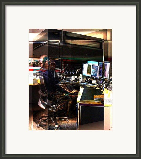 Alternate Cubicle Framed Print By Ron Bissett