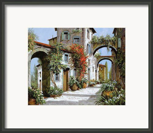 Altri Archi Framed Print By Guido Borelli