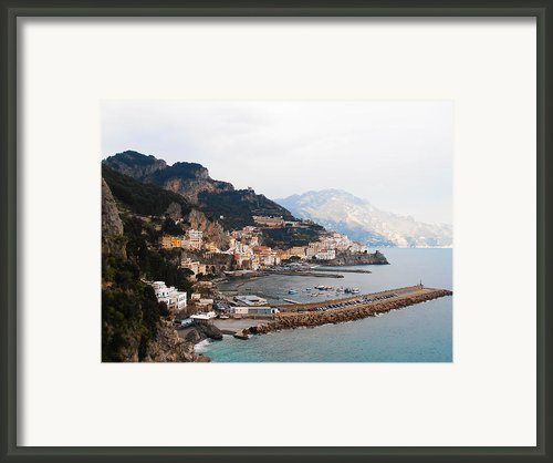 Amalfi Italy Framed Print By Bill Cannon