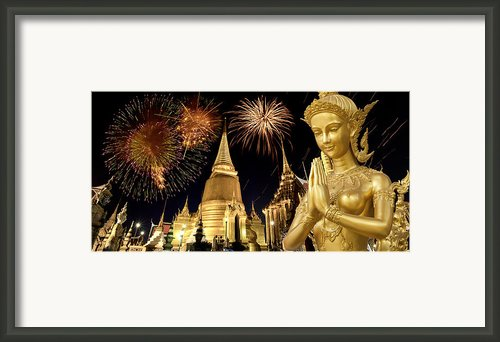 Amazing Thailand Framed Print By Anek Suwannaphoom