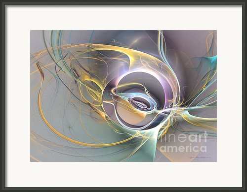 Amber In Love Framed Print By Sipo Liimatainen