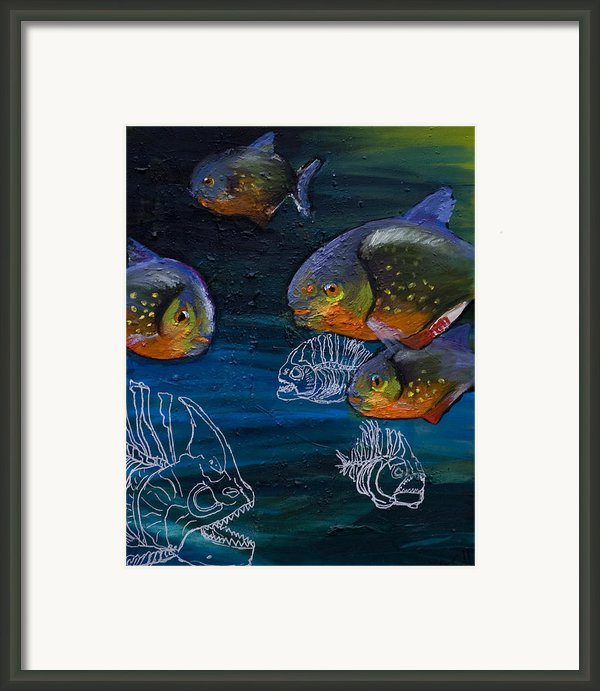 Ambiguity  Framed Print By Anthony Cavins