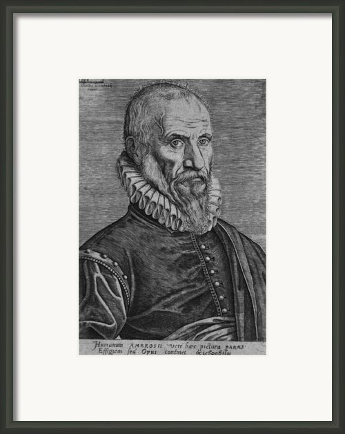 Ambroise Pare, The Great 16th Century Framed Print By Everett