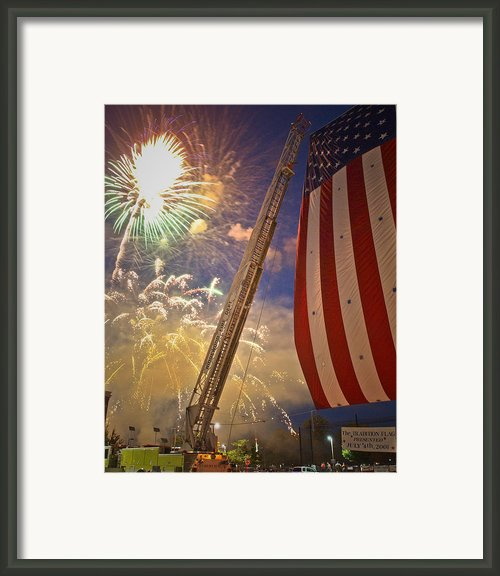America The Beautiful Framed Print By Jim Delillo