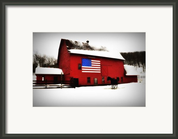American Barn Framed Print By Bill Cannon