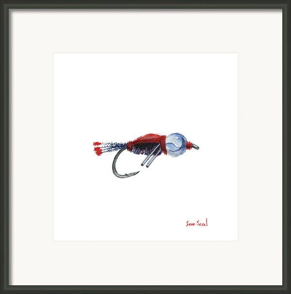 American Bead Head Framed Print By Sean Seal