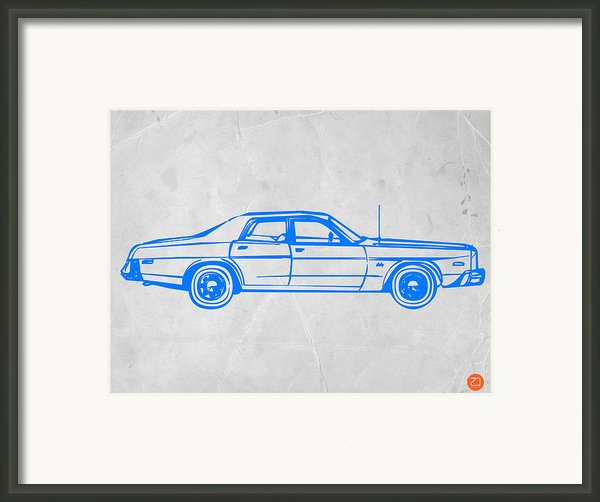 American Car Framed Print By Irina  March