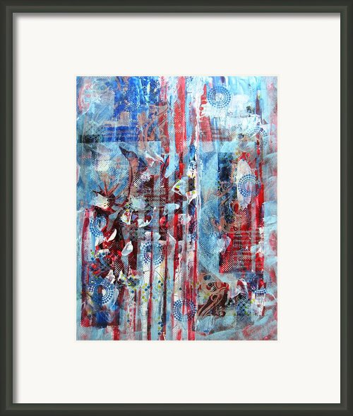 American Tribute Framed Print By David Raderstorf